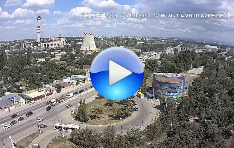 Панорамная веб-камера поселка ГРЭС