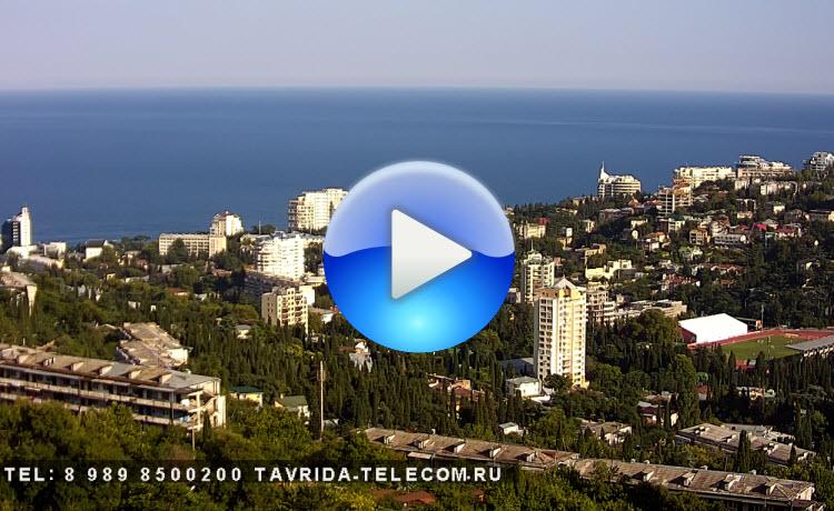 Панорамная веб-камера Ялты 1