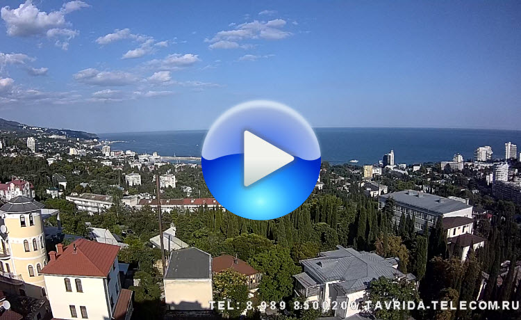 Панорамная онлайн камера Ялты 2