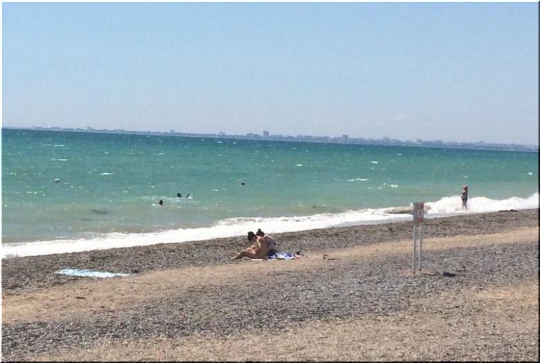 пляж Солнышко в Крыму