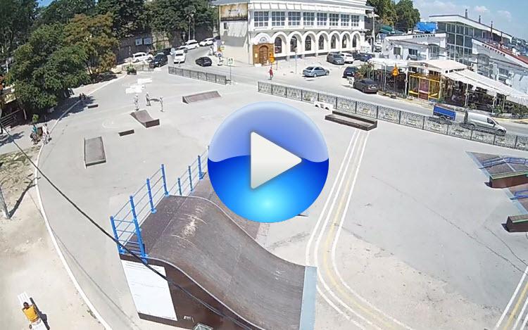 Веб-камера на площади 300-летия Флота России