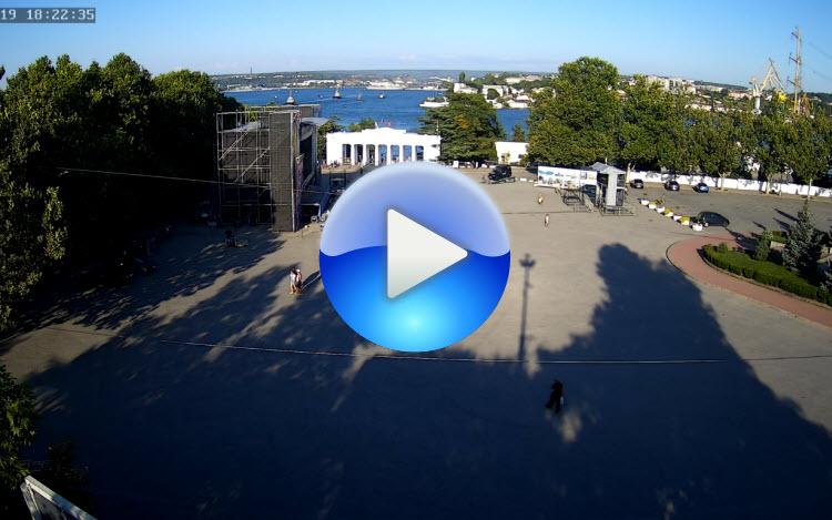 веб-камера на площади Нахимова в Севастополе