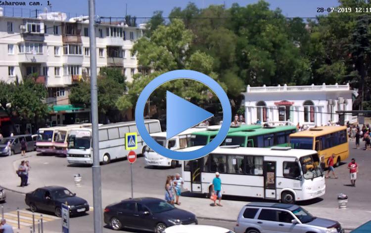 веб-камера на площади Захарова