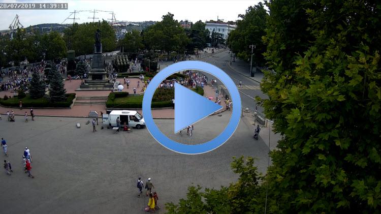 веб-камера на улице Ленина в Севастополе