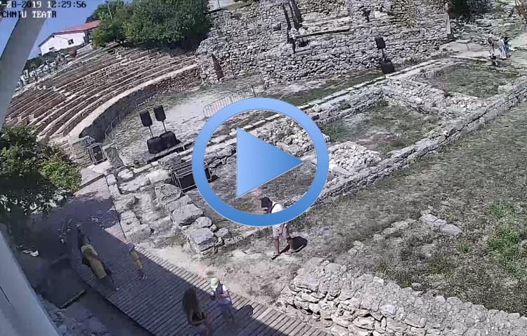 веб-камера у Античного театра