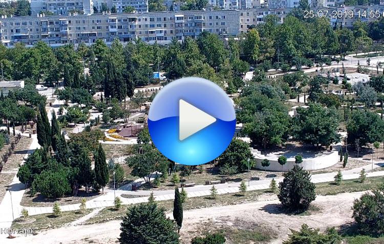 веб-камера у Динопарка в Севастополе