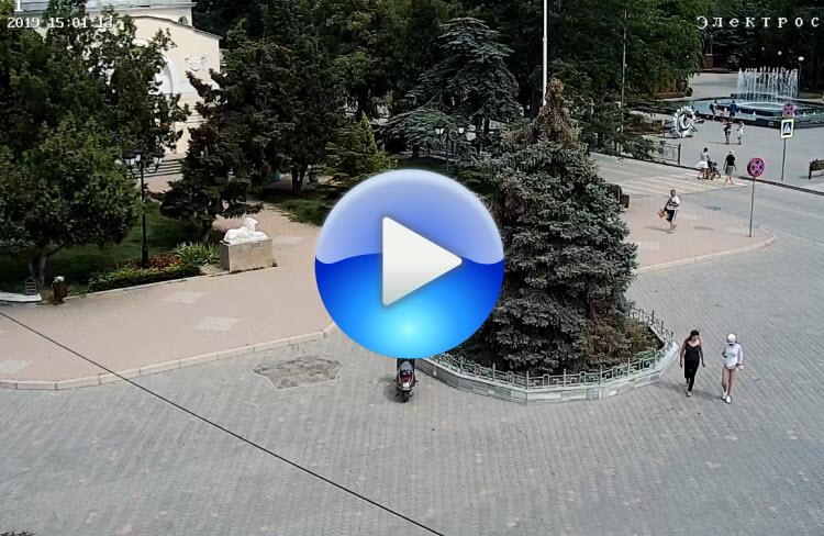 веб-камера у кинотеатра Ракета