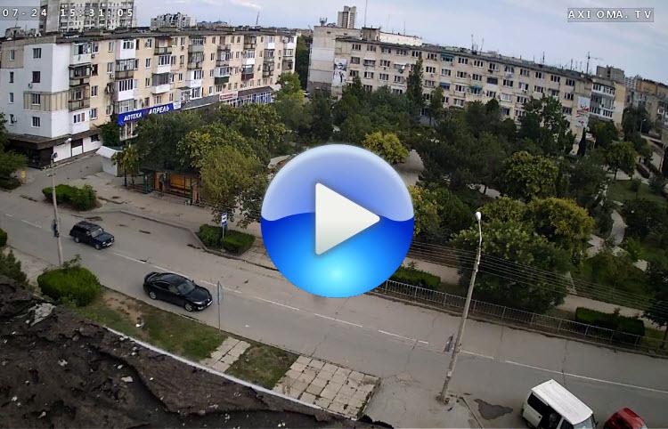 веб-камера в Сквере Афганцев в Евпатории