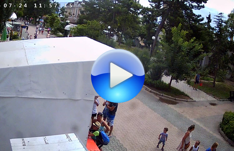 веб-камера у кафе Щедра хата