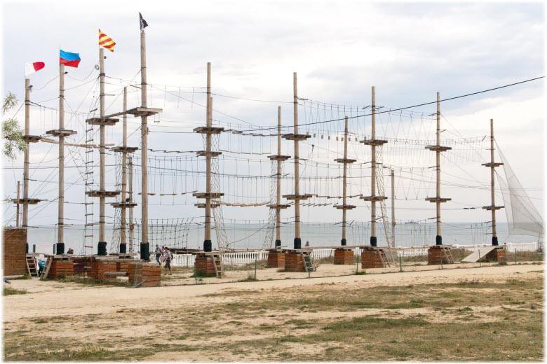 фото веревочного парка в Севастополе