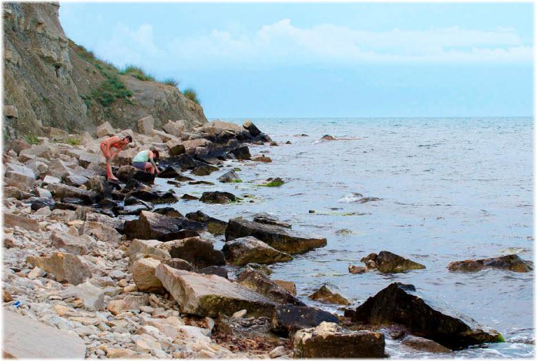 дикие пляжи Феодосии
