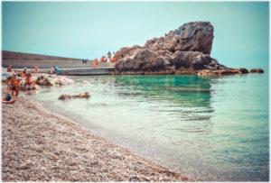 пляж Лягушка в Алупке