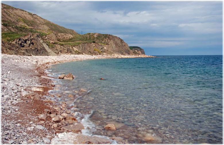 пляж у мыса Святого Ильи