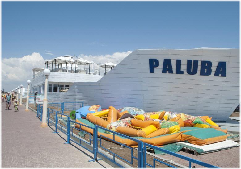 ресторан-пароход Палуба