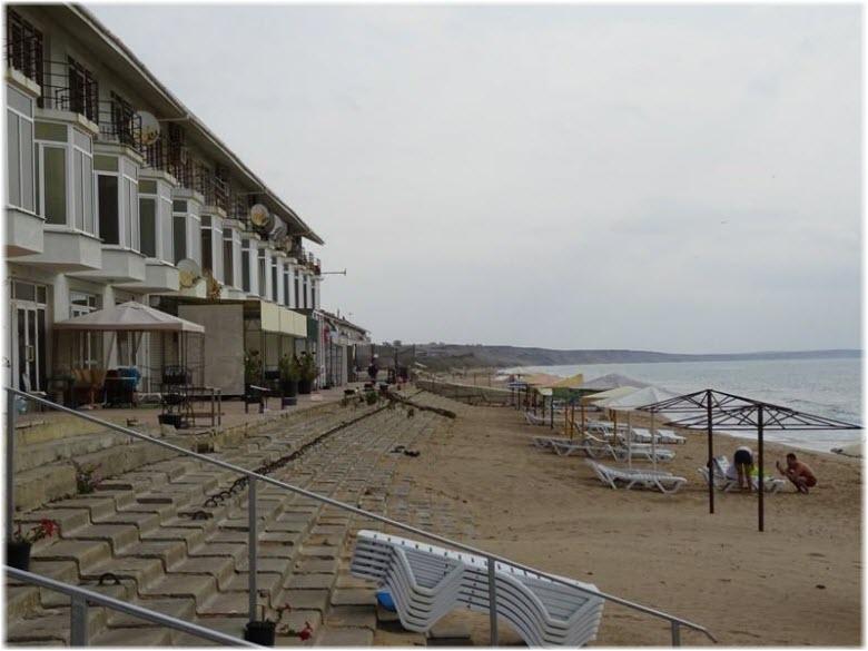 эллинги в Песчаной балке