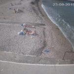 фото с камеры на пляже Песочный