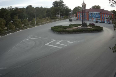 фото с камеры на улице Комарова в Керчи