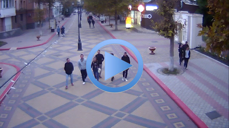 веб-камера на улице Ленина в Керчи