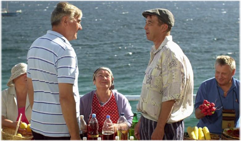фото со съемок Сватов в Крыму