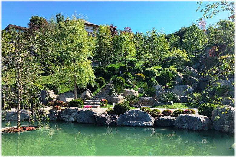 фото Японского сада Шесть чувств