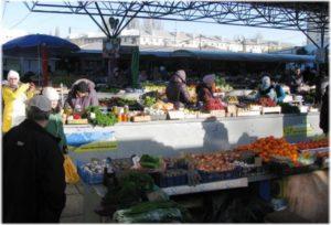 овощные ряды Центрального рынка