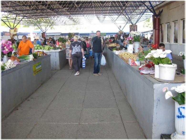 Центральный рынок в Феодосии
