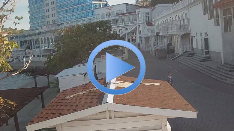 веб-камера на пляже Хрустальный
