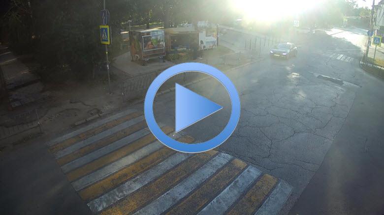веб-камера на улице Менделеева в Симферополе