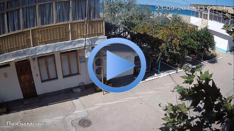 веб-камера с видом на подходы к Любимовскому пляжу
