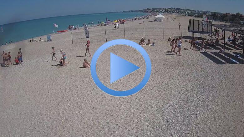 веб-камера с видом пляжа Любимовка