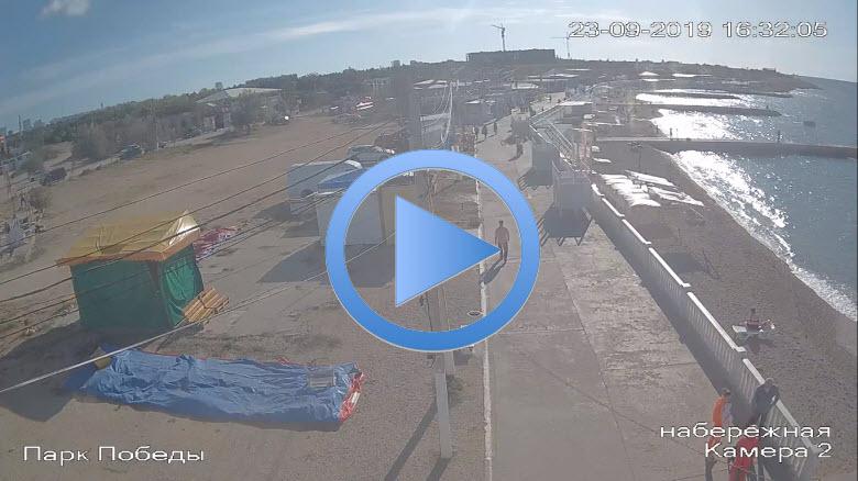 веб-камера возле набережной Победы