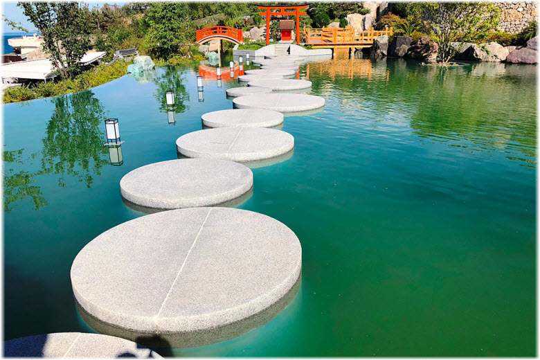 Японский сад в Ялте