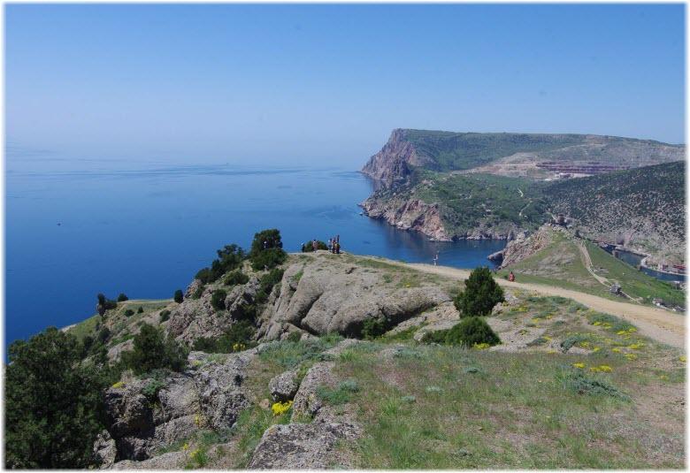 фото на пути Севастопольской тропы
