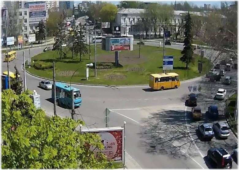 фото с веб-камеры на Куйбышевской площади