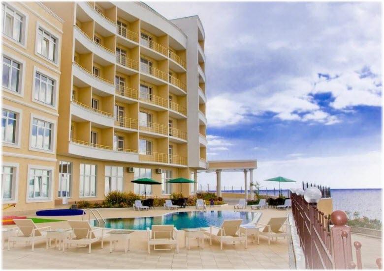 отели Алушты с бассейнами и пляжем