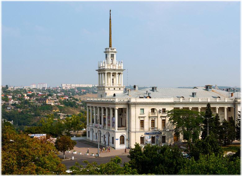 панорама Матросского клуба