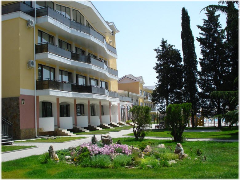 парк отеля Демерджи