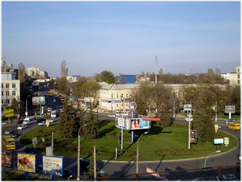 площадь Куйбышева в Симферополе