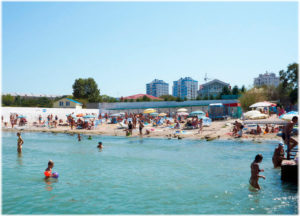 пляж Песочный в Севастополе