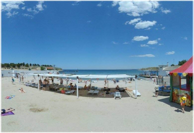 пляж Песочный