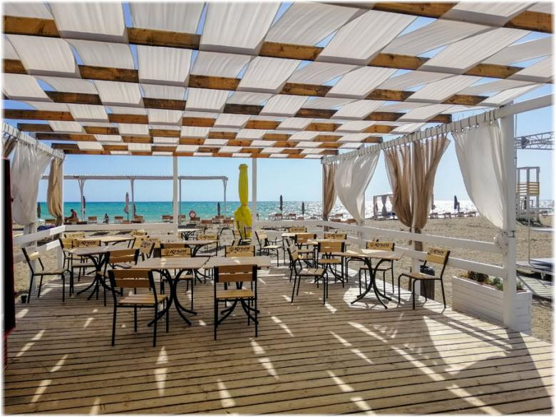 пляжное кафе Виктория
