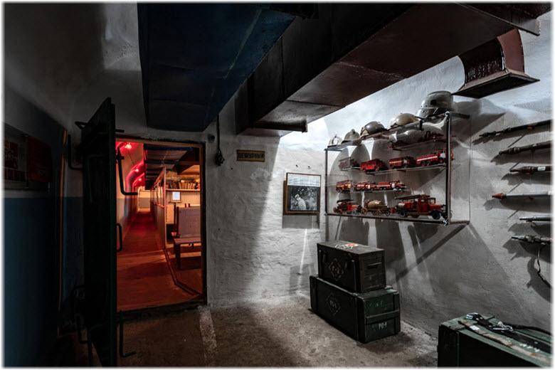 экспозиции подземного музея