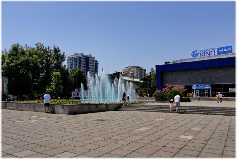 фонтан на Советской площади