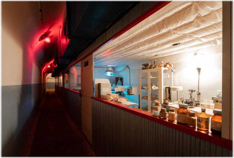 лаборатории музея