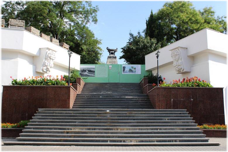 лестница на Матросский бульвар