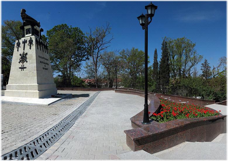 Матросский бульвар в Севастополе