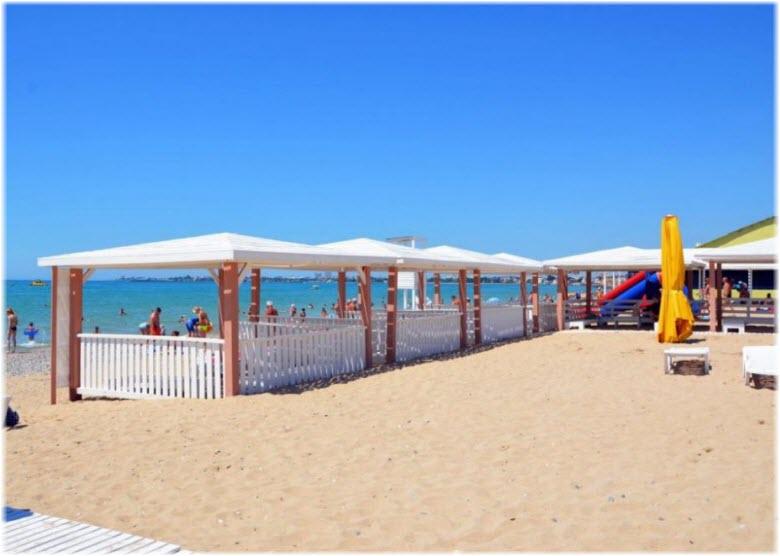 Новый пляж в Евпатории