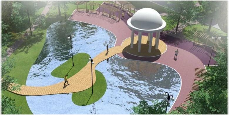 проект реконструкции парка Мира