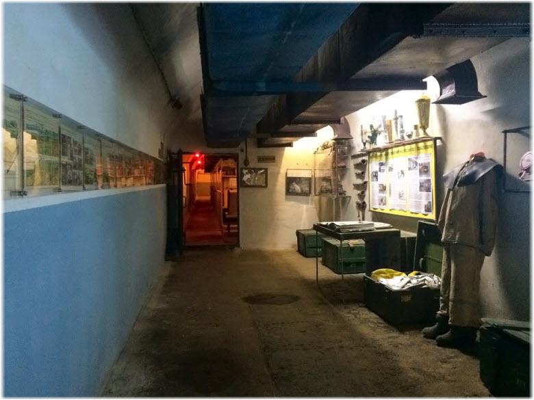 в музее Подземный Севастополь
