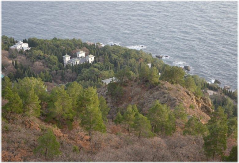 фото Меласского парка с высоты